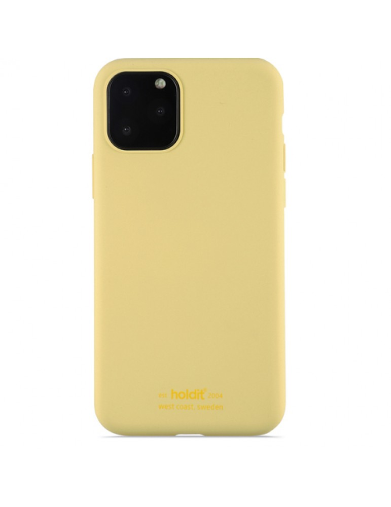 Silicone Case iPhone 11 Pro**Yellow