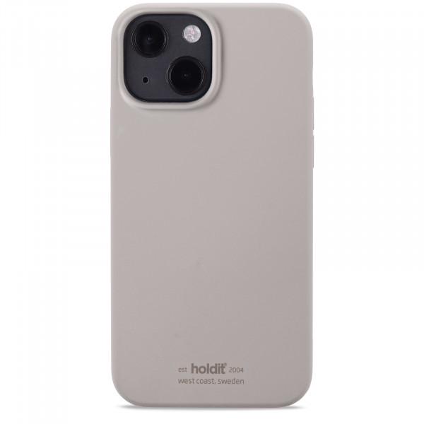 Holdit Silicone Case Iphone 13 Mini Taupe -15162