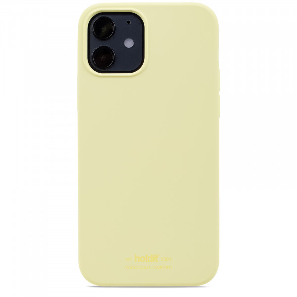 Silicone Case iPhone 12 / 12 Pro Yellow - 14914