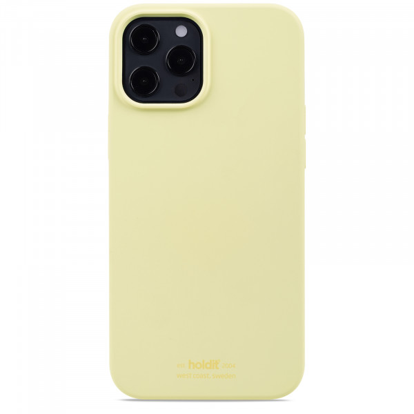 Silicone Case iPhone 12 Pro Max  Yellow - 14916