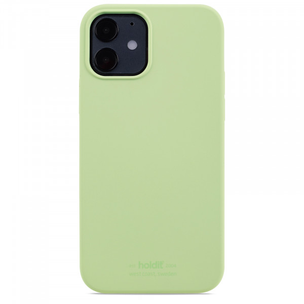 Silicone Case iPhone 12 / 12 Pro light green- 14925