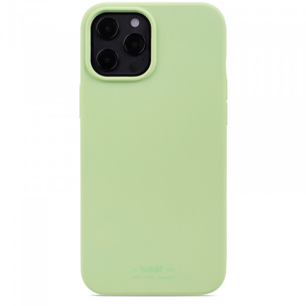 Silicone Case iPhone 12 Pro Max light green- 14926