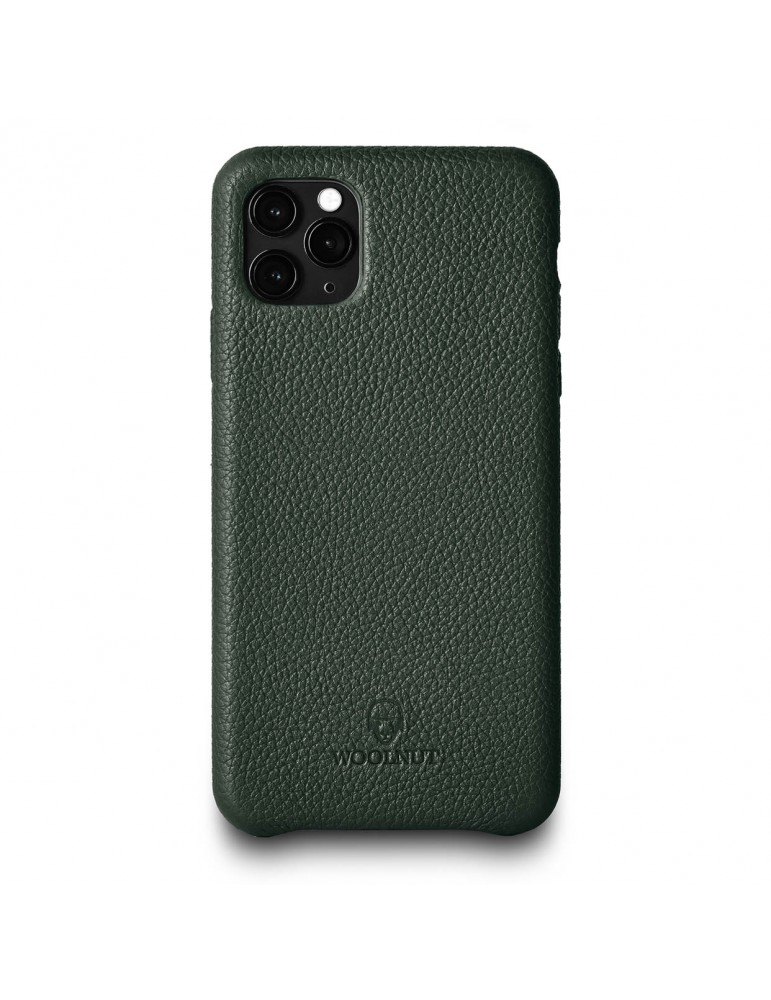 Full Grain Leather Phone Case iPhone 11 Pro Max- Green