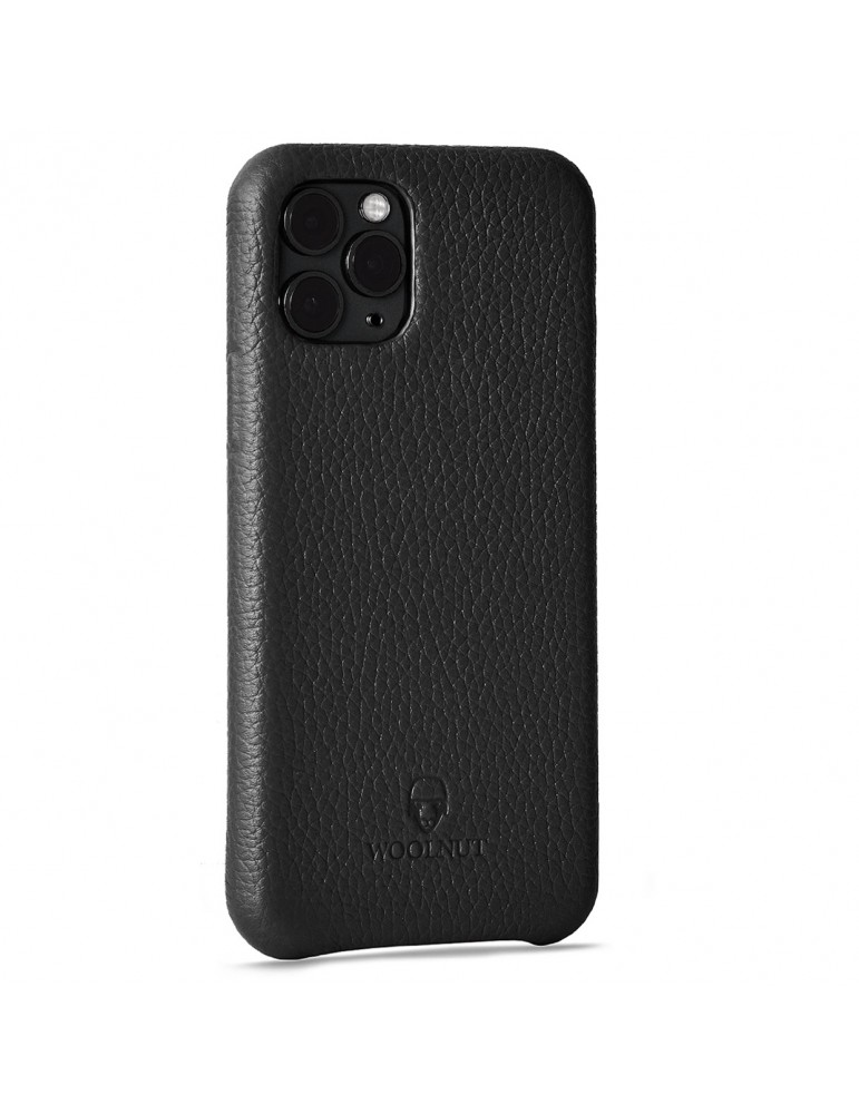Full Grain Leather Phone Case iPhone 11 Pro-Black