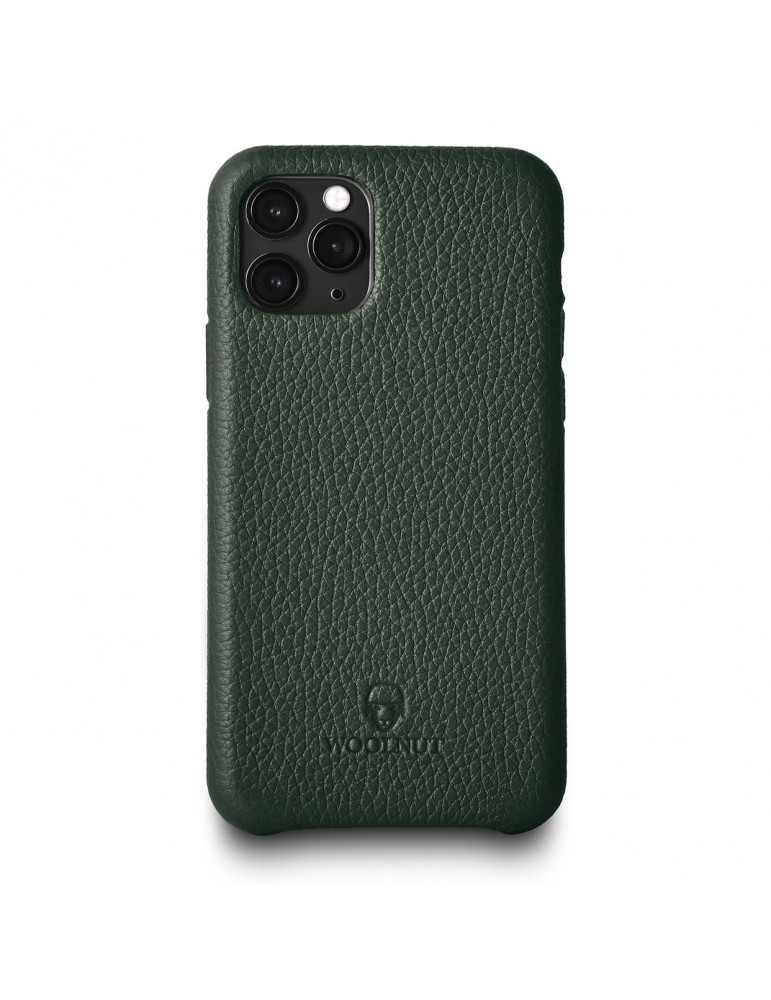 Full Grain Leather Phone Case iPhone 11 Pro-Green