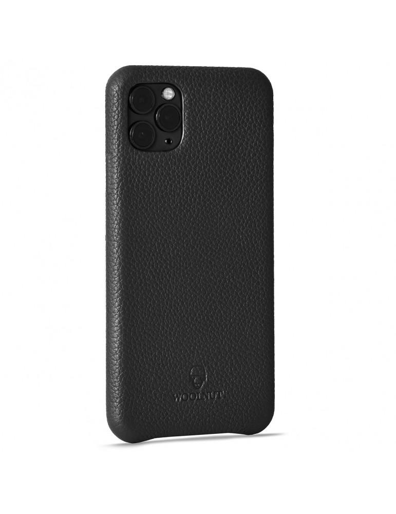 Full Grain Leather Phone Case iPhone 11 Pro Max-Black