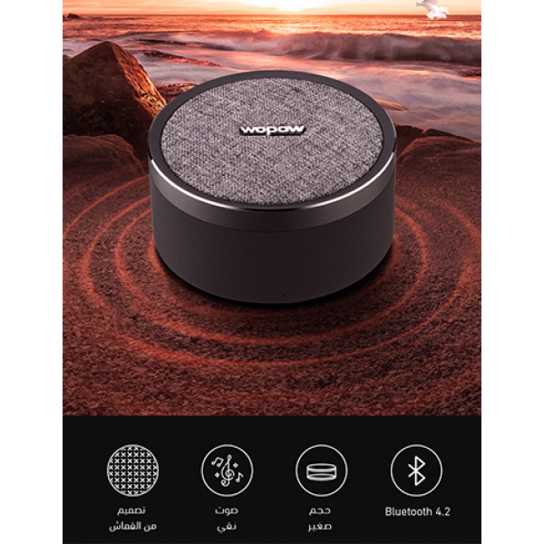 AP03- black  bluetooth speaker