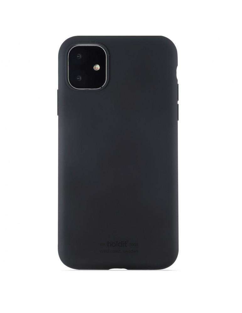 Silicone Case iPhone 11 Black