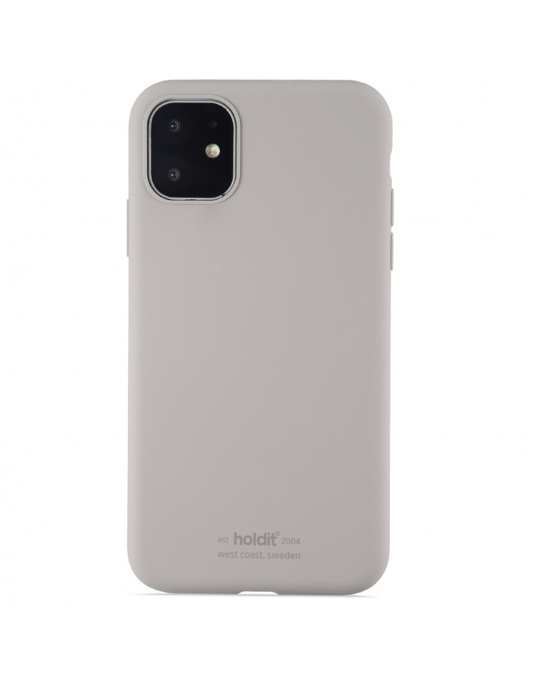 Silicone Case iPhone 11 Taupe