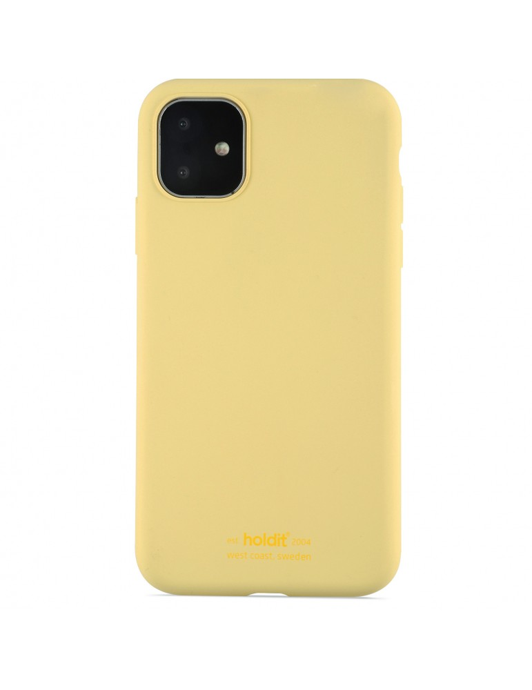 Silicone Case iPhone 11 Yellow