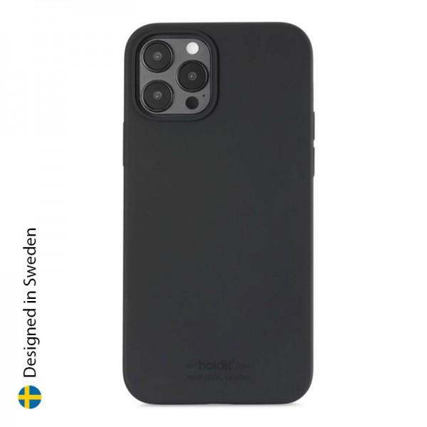 Silicone Case iPhone 12 Pro Max Black