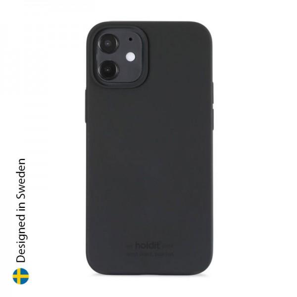 Silicone Case iPhone 12 Mini Black