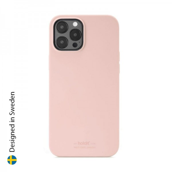 Silicone Case iPhone 12 Pro Max Blush Pink