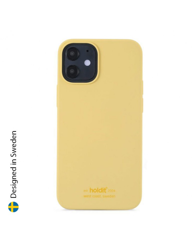 Silicone Case iPhone 12 Mini Yellow