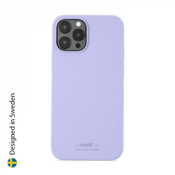 Silicone Case iPhone 12/12 Pro Lavender