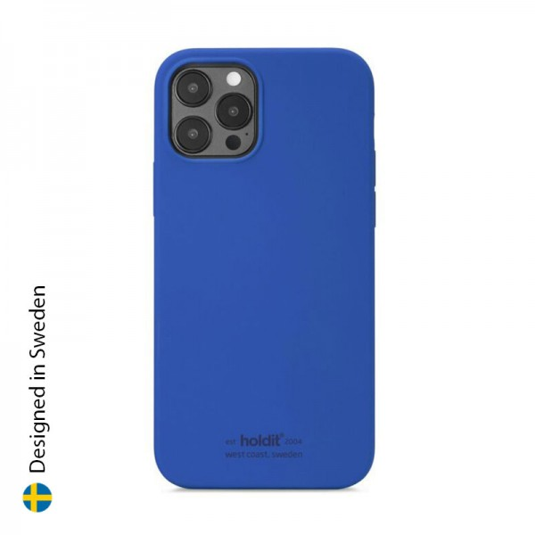 Silicone Case iPhone 12 Pro Max Royal Blue
