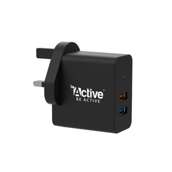 (Active A25 (2 USB IQ2 - Quick Charge 3.0+ - PowerBoost